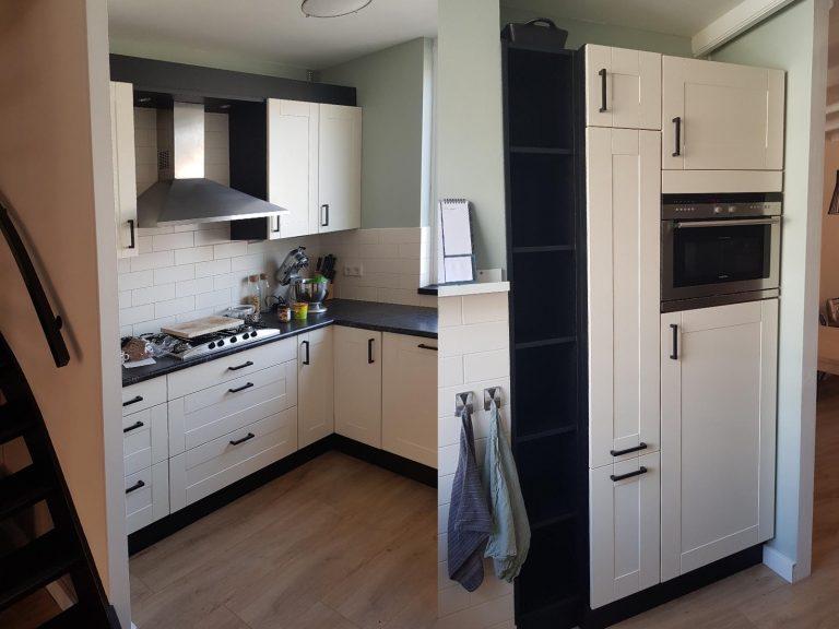 Keuken- en kastafwerking
